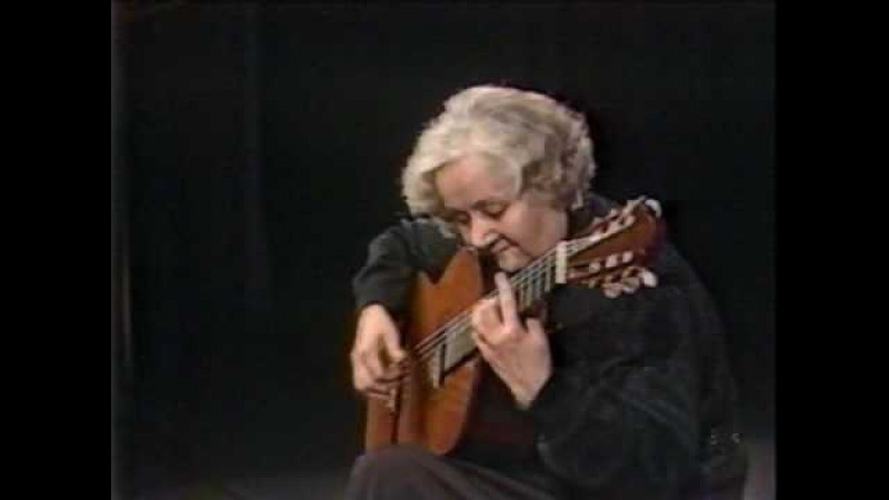 Rare Guitar Video: Maria Luisa Anido plays Mozart's Minuet