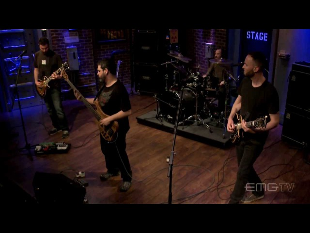 Intronaut performs Sore Sight For Eyes live on EMGtv