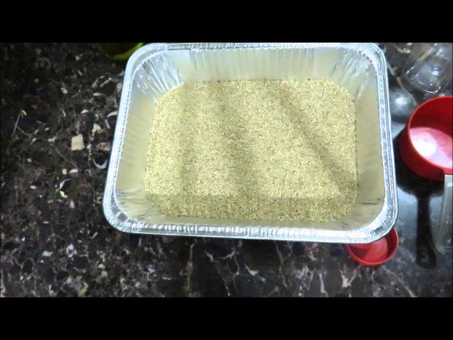 Тахинная Кунжутная Паста Tahini Paste Recipe