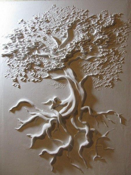 Как сделать барельеф из дерева