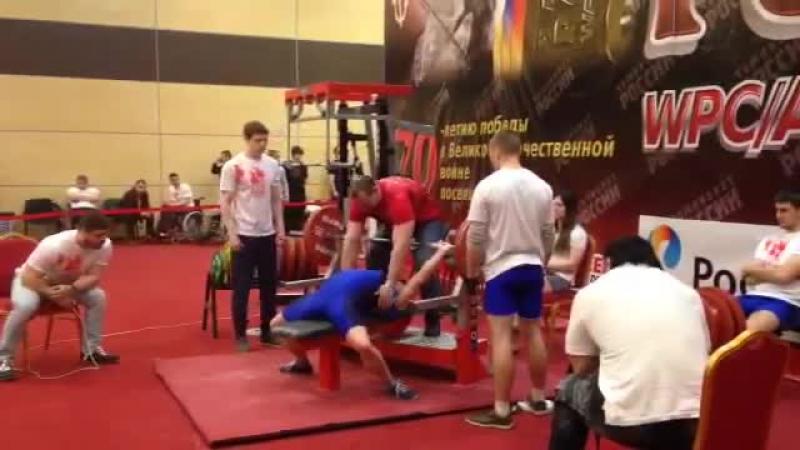 Анжела Кулагина 127 .5 кг