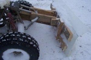 Снегоуборщик своими руками к трактору