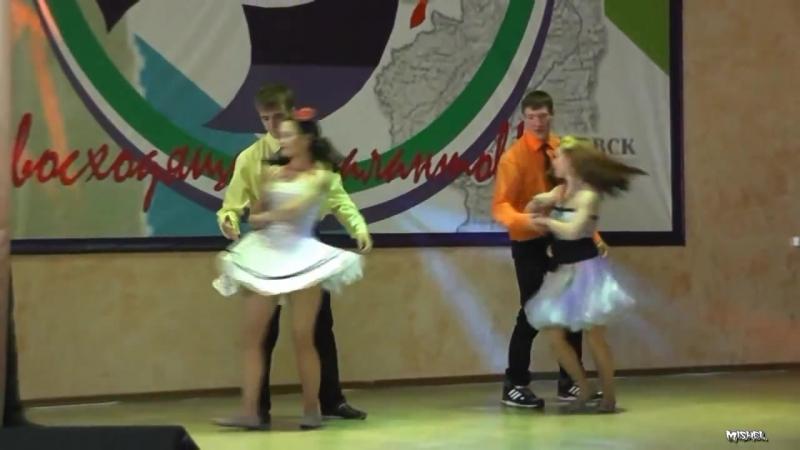 Комсомольский-на-Амуре Лесопромышленный Техникум.Выступление 2013 танец стиляги