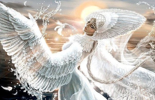 Схема вышивки «царевна лебедь»