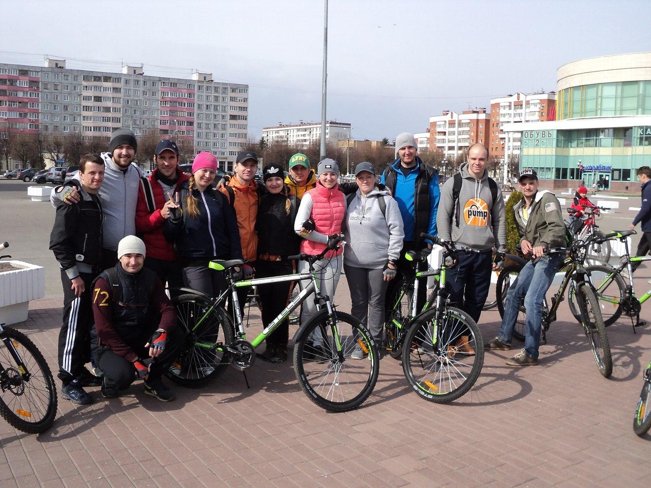 Новости Коломны   Маршрут велоориентирования был очень сложным и составил около 40 км Фото (Коломна)   sport otdyih dosug