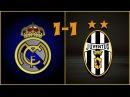 Голы Реал Мадрид - Ювентус (1-1) Обзор Матча 1/2 финала Лиги Чемпионов 2015 (13.05.2015)
