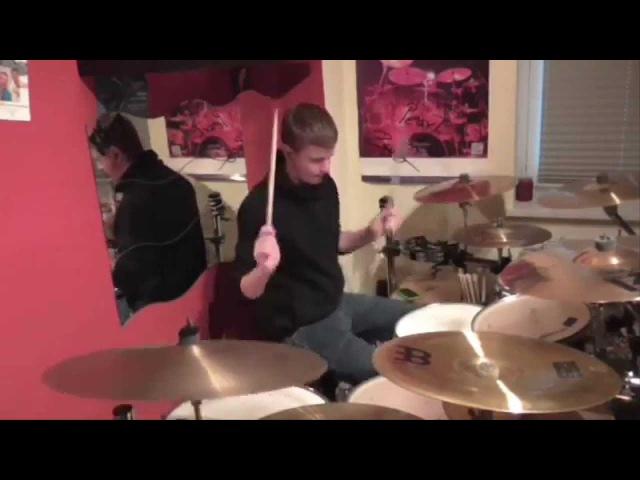 Burning Down Alaska-Savior[Drum Cover by Vincent Seidler/HD]