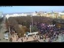 Разгон майданутых в Луганске...