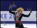 Evgeni Plushenko 2002 Olympics warmup LP Carmen Medal Ceremony