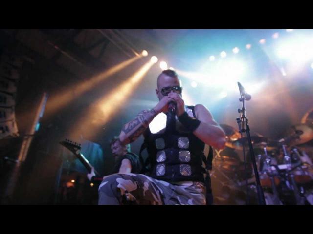 Raubtier Feat Joakim Brodén (Sabaton) - En Hjältes Väg Live in Karlstad 2012-12-22 HD