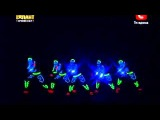 Украина мои таланты 5 танец в темноте!!Смотреть