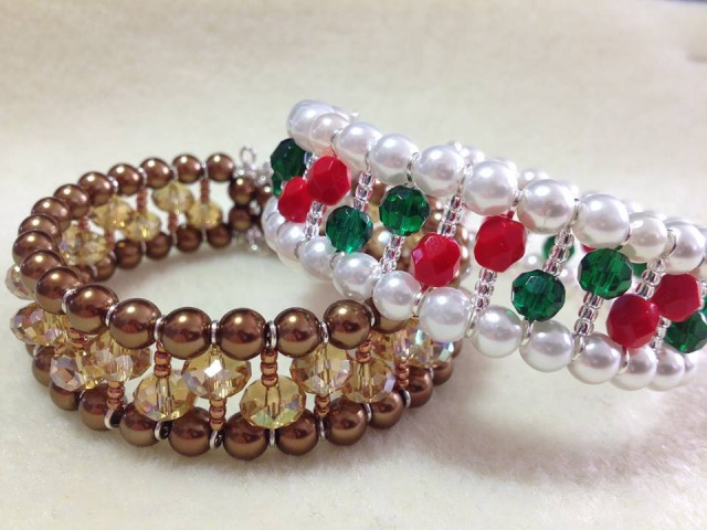 (Tutorial) Opulent Christmas Bracelet (Video 111)