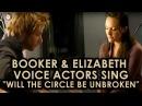 BioShock Infinite Booker Elizabeth voice actors sing Will the Circle be Unbroken