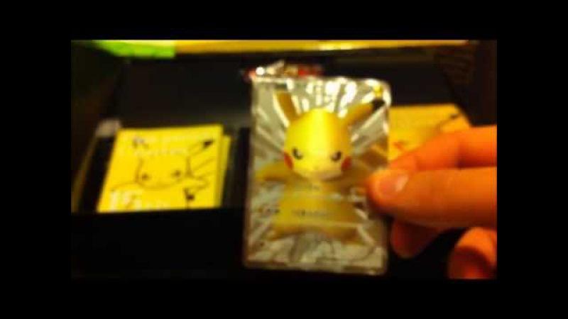 ENORME - EXCLUSIVITE - BOX PIKACHU - CARTE POKEMON - TOKYO 15 ANS