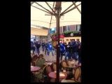 Marseille hooligans attack locals & trash Dutch city of Groningen ahead of EL clash