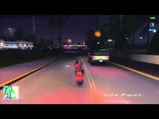 GTA Vice City Enb Series mod 2015. Ver.1.0 Riding a bike