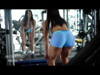 Eva Andressa   пышная попка  Мотивация nude and sexy fitness motivation