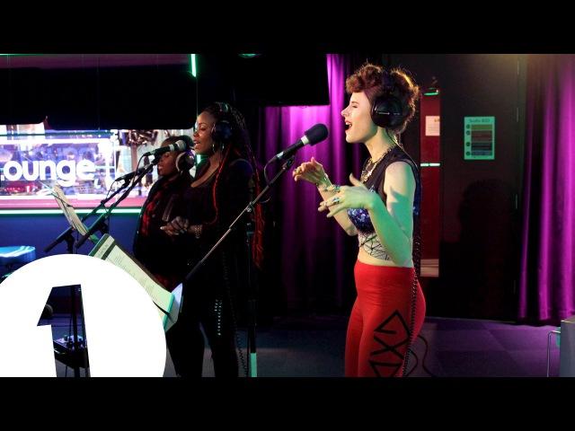 Kiesza covers Naughty Boy's La La La in the Live Lounge