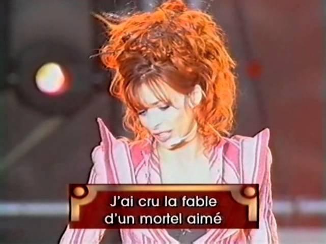 Mylène Farmer Je te rends ton amour La Fureur du Parc