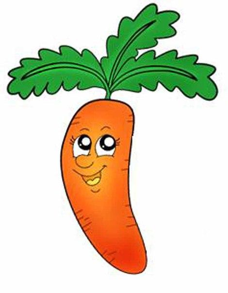 рисунок морковки: