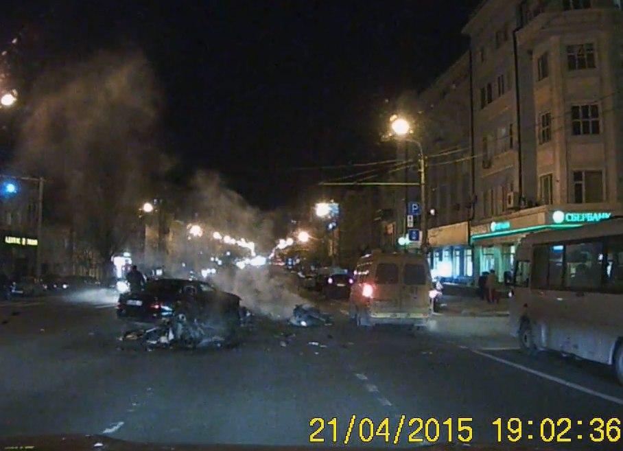 В сети появился видеоролик чудовищной аварии, в которой погиб 27-летний мотоциклист