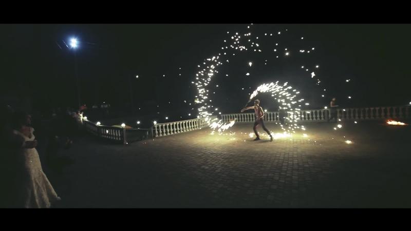 Вогняне та піротехнічне шоу(фаєр).Театр вогню Fire Life .Ужгород,Закарпаття.FIRE SHOW.Огненное(фаер) шоу на праздник