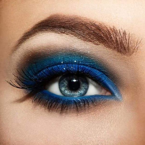 Идеальный макияж для темно карих глаз
