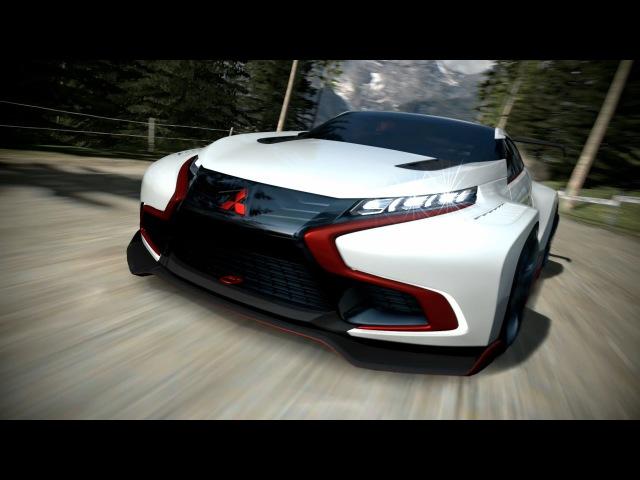 Mitsubishi Concept XR-PHEV EVOLUTION Vision Gran Turismo Unveiled