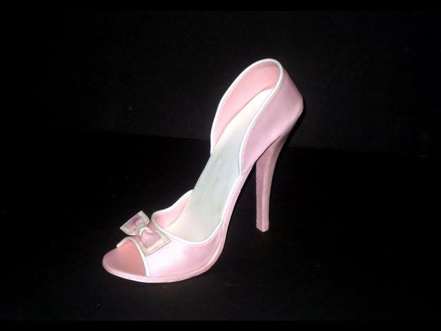 Fondant High Heel Shoe Tutorial