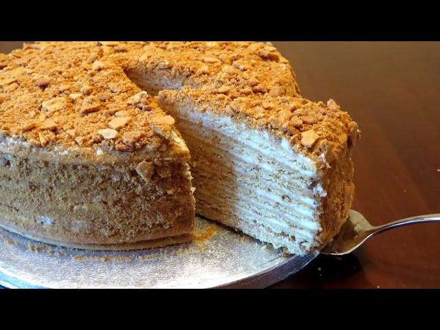 Торт медовик Рыжик