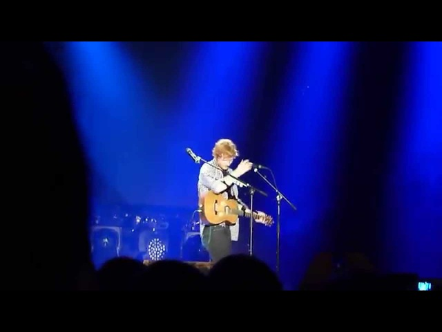 Make It Rain Ed Sheeran Live in Seattle Multiply Tour 2014