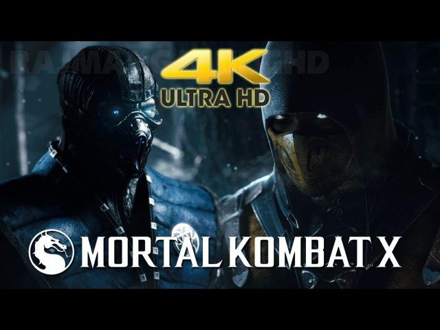 Mortal Kombat X - Announcment Trailer (4K HD) TRUE-HD QUALITY