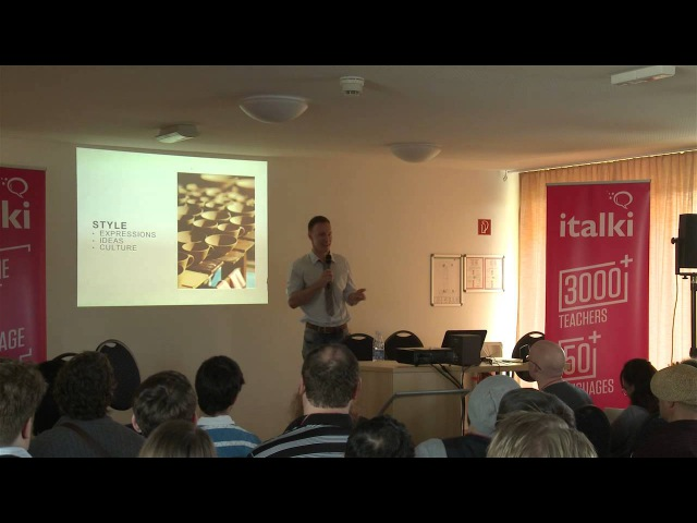 Sounding native - Vladimir Skultety at the Polyglot Gathering 2015