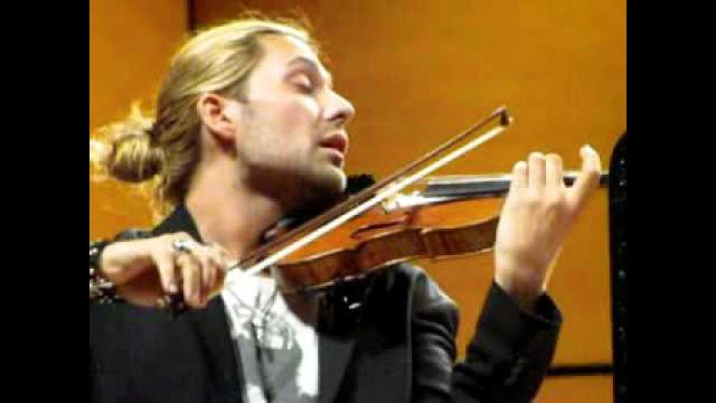 David Garrett Bruch Konzert Mailand, 27.05.2012 Auditorium di Milano