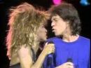 Mick Jagger Tina Turner It's Only Rock 'n Roll (But I Like It) Philadelphia 1985