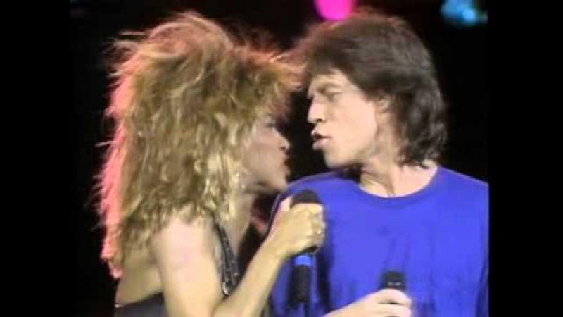 Mick Jagger Tina Turner Its Only Rock n Roll (But I Like It) Philadelphia 1985