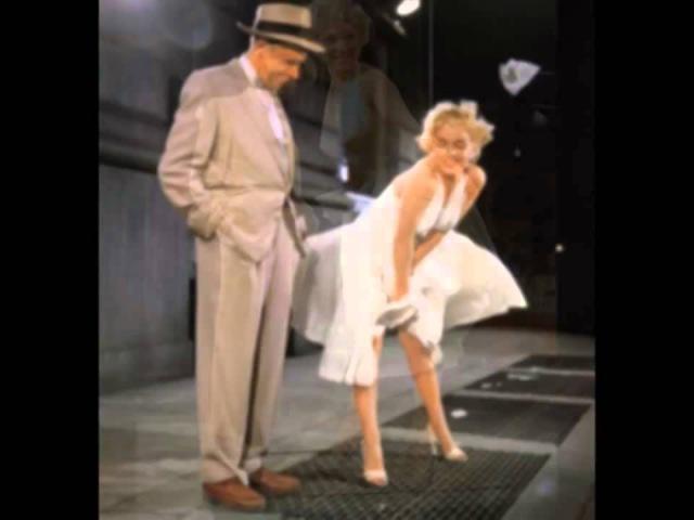 Мерлин Монро, сцена с метро из фильма Зуд сдьмого года