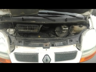 Очистка клапанов и форсунок 1.9 dci Renault Trafic очистителем Pro Tec (Про Тек)