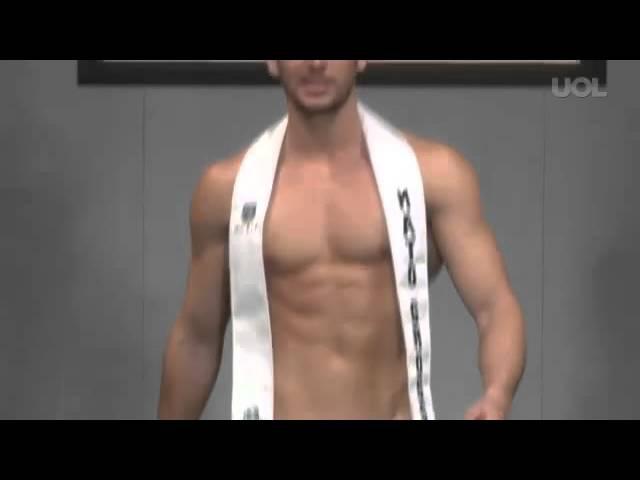 Mister Brasil 2013 - Traje de Banho