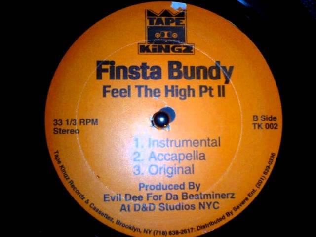 Finsta Bundy Feel The High Da Beatminerz Production 1995 HQ