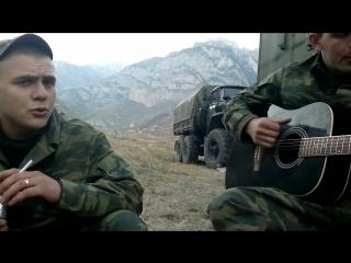 Душевная солдатская песня под гитару