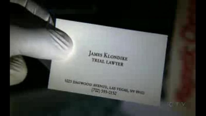 C.S.I: место преступления - Лас-Вегас.