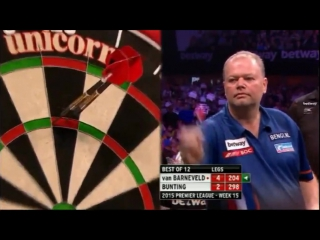 Raymond van Barneveld v Stephen Bunting (2015 Premier League Darts / Week 15)
