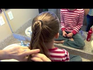 Cage Braid Ponytail - Popular Braids - Cute Girls Hairstyles