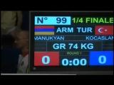 MANUKYAN Rafik (ARM) vs KOCASLAN Ismail (TUR)
