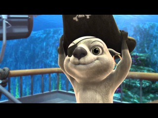 «Олли и сокровища пиратов» (2014) новый мультфильм про морские приключения.