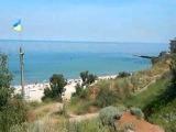 Одесса. Собачий пляж под Киностудией Довженко справа от Яхтклуба Трасса здоровья Фонтан
