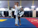 Super Flexible taekwondo girl!!!