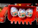 Surprise eggs Kinder Surprise и яйца судьбы вини - пуха