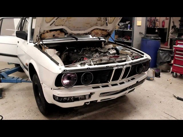 BMW E28 528 281hp 330nm Non-Turbo Bmw-Cup engine, First startup testrun